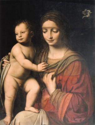 ベルナルディーノ・ルイーニ《聖母子》