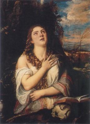 ティツィアーノ・ヴェチェッリオ《マグダラのマリア》