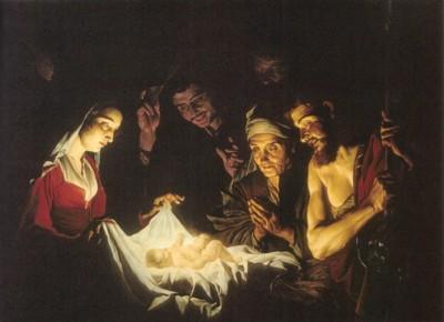 マティアス・ストーメル《羊飼いの礼拝》