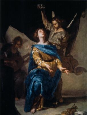 ベルナルド・カヴァリーノ《聖カエキリアの法悦》
