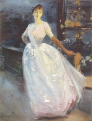 アルベール・ベルナール《ロジェ・ジュルダン夫人》