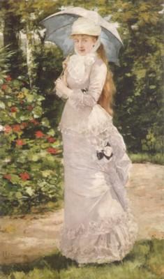 アンリ・ジェルヴェクス《ヴァルテス・ド・ラ・ビーニュ夫人》