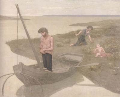 ピエール・ピュヴィ・ド・シャヴァンヌ《貧しき漁夫》