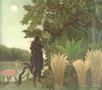 アンリ・ルソー《蛇使いの女》