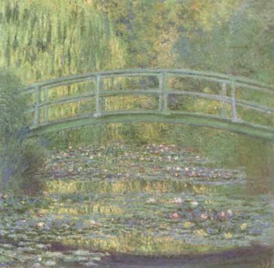クロード・モネ《睡蓮の池》(ポーラ美術館蔵)