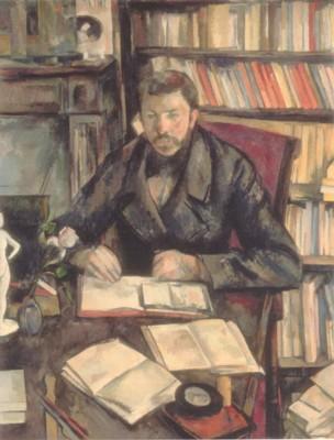 ポール・セザンヌ《ギュスターヴ・ジェフロワ》