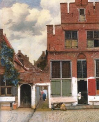 ヨハネス・フェルメール《小路》(アムステルダム国立美術館蔵)